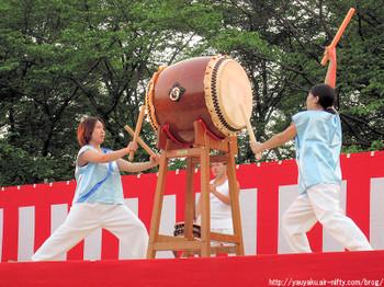 2011年さきたま火祭り 武蔵あばれ太鼓