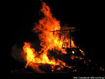 2011年さきたま火祭り 産屋炎上